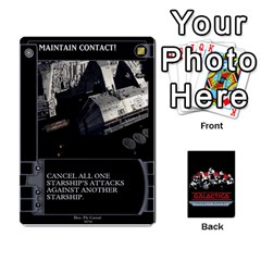 Bsg Ssb Command Cards By Michael   Playing Cards 54 Designs   K35er2ma0uje   Www Artscow Com Front - Heart9