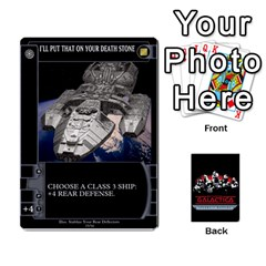 Bsg Ssb Command Cards By Michael   Playing Cards 54 Designs   K35er2ma0uje   Www Artscow Com Front - Diamond2