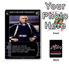 Bsg Ssb Command Cards By Michael   Playing Cards 54 Designs   K35er2ma0uje   Www Artscow Com Front - Spade5