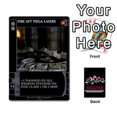 Ace Bsg Ssb Command Cards By Michael   Playing Cards 54 Designs   K35er2ma0uje   Www Artscow Com Front - DiamondA