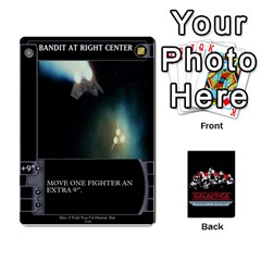 Bsg Ssb Command Cards By Michael   Playing Cards 54 Designs   K35er2ma0uje   Www Artscow Com Front - Club9