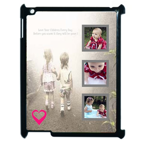 Children Ipad Skin By Birkie   Apple Ipad 2 Case (black)   5f91m6fdynic   Www Artscow Com Front