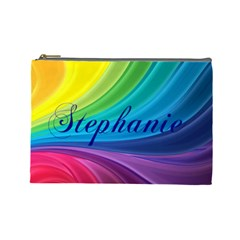 Stephanie By Christy Sinko   Cosmetic Bag (large)   B2k8w7k5x7nj   Www Artscow Com Front
