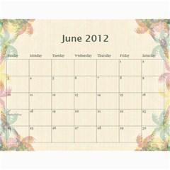 The Best One By Karen Bailey   Wall Calendar 11  X 8 5  (12 Months)   Qd87h0j7x2mj   Www Artscow Com Jun 2012