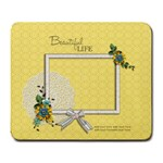 Mousepad: Beautiful Life - Large Mousepad
