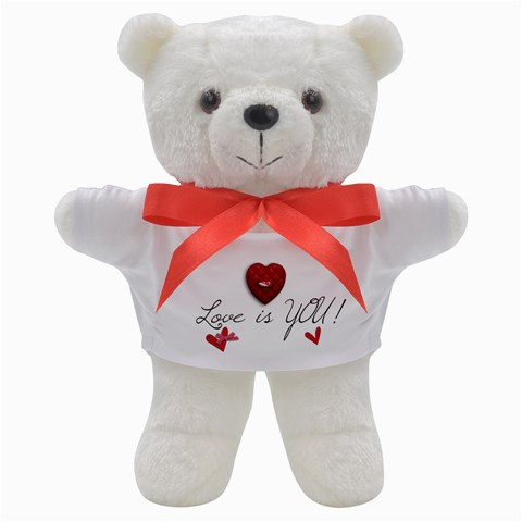 Teddy Bear: Love Is You! By Jennyl   Teddy Bear   Zih6tmcz93p0   Www Artscow Com Front