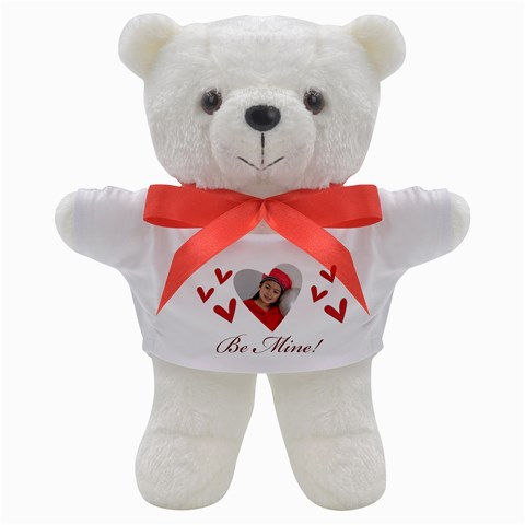 Teddy Bear: Be Mine! By Jennyl   Teddy Bear   Gmwggk4az4j0   Www Artscow Com Front