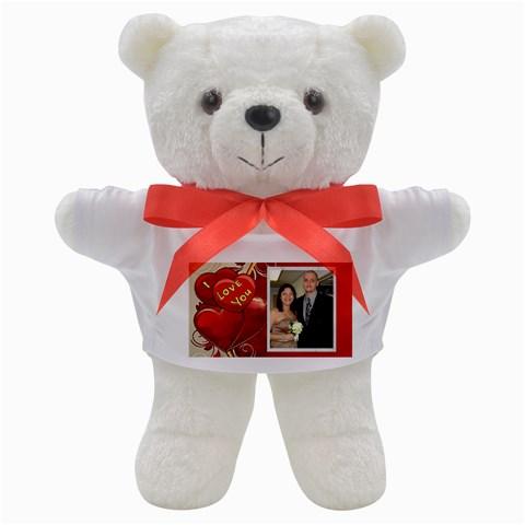 I Love You Teddy By Kim Blair   Teddy Bear   Fmvf80vj8lu0   Www Artscow Com Front