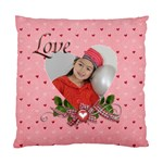 Cushion Case (Two Sides): Love - Standard Cushion Case (Two Sides)
