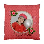 Cushion Case (Two Sides): I Love You - Standard Cushion Case (Two Sides)