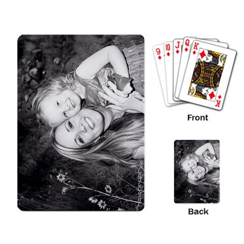 Cards Steph And Riley By Nancy   Playing Cards Single Design   Vg48cqxarpgt   Www Artscow Com Back