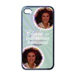 Deliciously scrummy cupcake iphone 4 case - Apple iPhone 4 Case (Black)