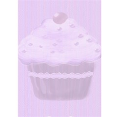 Be My Valentine Cupcake Card By Claire Mcallen   Greeting Card 5  X 7    Zzhtsoi80e2j   Www Artscow Com Front Inside