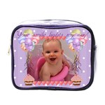 Cupcake balloons your smile mini toiletry bag - Mini Toiletries Bag (One Side)