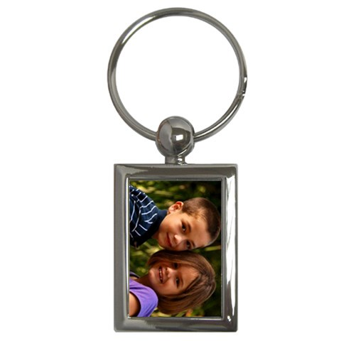 Key Chain Janet By Janet Andreasen   Key Chain (rectangle)   Zc19vy42bgx8   Www Artscow Com Front