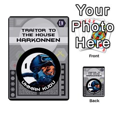 Dune Traitor Spice By Matt   Multi Purpose Cards (rectangle)   Ysqffwj32j5r   Www Artscow Com Front 1
