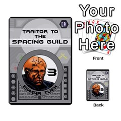 Dune Traitor Spice By Matt   Multi Purpose Cards (rectangle)   Ysqffwj32j5r   Www Artscow Com Front 7