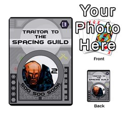 Dune Traitor Spice By Matt   Multi Purpose Cards (rectangle)   Ysqffwj32j5r   Www Artscow Com Front 9
