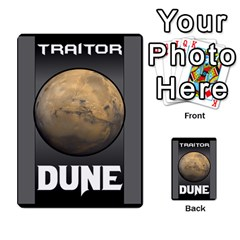 Dune Traitor Spice By Matt   Multi Purpose Cards (rectangle)   Ysqffwj32j5r   Www Artscow Com Back 9
