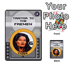 Dune Traitor Spice By Matt   Multi Purpose Cards (rectangle)   Ysqffwj32j5r   Www Artscow Com Front 11