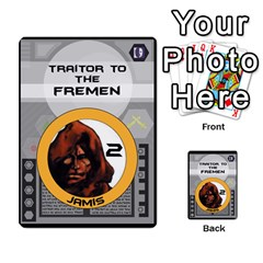 Dune Traitor Spice By Matt   Multi Purpose Cards (rectangle)   Ysqffwj32j5r   Www Artscow Com Front 12