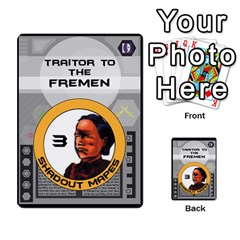 Dune Traitor Spice By Matt   Multi Purpose Cards (rectangle)   Ysqffwj32j5r   Www Artscow Com Front 13