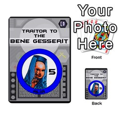 Dune Traitor Spice By Matt   Multi Purpose Cards (rectangle)   Ysqffwj32j5r   Www Artscow Com Front 21