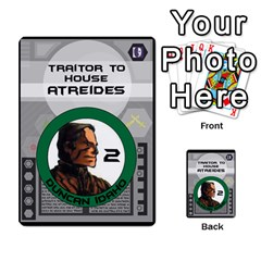 Dune Traitor Spice By Matt   Multi Purpose Cards (rectangle)   Ysqffwj32j5r   Www Artscow Com Front 26