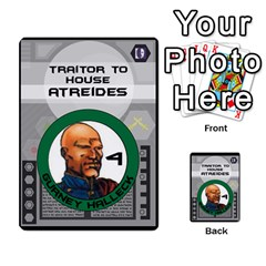Dune Traitor Spice By Matt   Multi Purpose Cards (rectangle)   Ysqffwj32j5r   Www Artscow Com Front 27