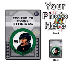 Dune Traitor Spice By Matt   Multi Purpose Cards (rectangle)   Ysqffwj32j5r   Www Artscow Com Front 28