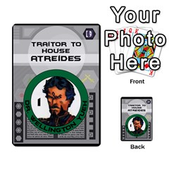 Dune Traitor Spice By Matt   Multi Purpose Cards (rectangle)   Ysqffwj32j5r   Www Artscow Com Front 29