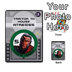 Dune Traitor Spice By Matt   Multi Purpose Cards (rectangle)   Ysqffwj32j5r   Www Artscow Com Front 30