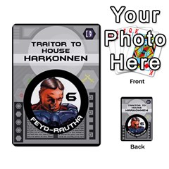 Dune Traitor Spice By Matt   Multi Purpose Cards (rectangle)   Ysqffwj32j5r   Www Artscow Com Front 4