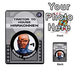 Dune Traitor Spice By Matt   Multi Purpose Cards (rectangle)   Ysqffwj32j5r   Www Artscow Com Front 5