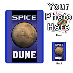 Dune Traitor Spice By Matt   Multi Purpose Cards (rectangle)   Ysqffwj32j5r   Www Artscow Com Back 47