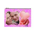 Pink Sweet love Large Cosmetic Case - Cosmetic Bag (Large)
