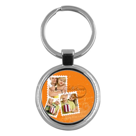 Love By May   Key Chain (round)   Q6chbkj8wvea   Www Artscow Com Front