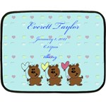 babyblanket - Fleece Blanket (Mini)