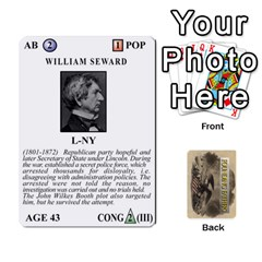 King  founding Fathers  Statesmen (action) 2012 By Tom Heaney   Playing Cards 54 Designs   6hx8r6lbrbt7   Www Artscow Com Front - SpadeK