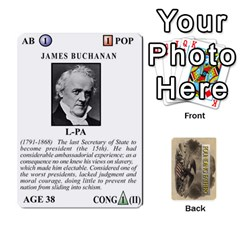 founding Fathers  Statesmen (action) 2012 By Tom Heaney   Playing Cards 54 Designs   6hx8r6lbrbt7   Www Artscow Com Front - Heart2