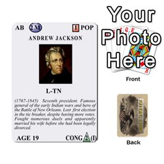 founding Fathers  Statesmen (action) 2012 By Tom Heaney   Playing Cards 54 Designs   6hx8r6lbrbt7   Www Artscow Com Front - Diamond8
