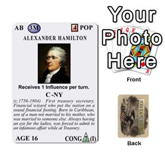 founding Fathers  Statesmen (action) 2012 By Tom Heaney   Playing Cards 54 Designs   6hx8r6lbrbt7   Www Artscow Com Front - Diamond10