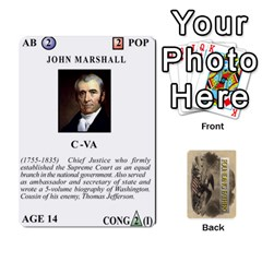 founding Fathers  Statesmen (action) 2012 By Tom Heaney   Playing Cards 54 Designs   6hx8r6lbrbt7   Www Artscow Com Front - Club2
