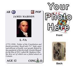 founding Fathers  Statesmen (action) 2012 By Tom Heaney   Playing Cards 54 Designs   6hx8r6lbrbt7   Www Artscow Com Front - Club5
