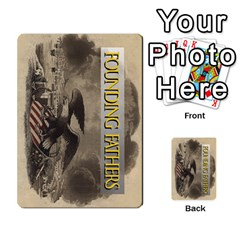 founding Fathers  Statesmen (action) 2012 By Tom Heaney   Playing Cards 54 Designs   6hx8r6lbrbt7   Www Artscow Com Back