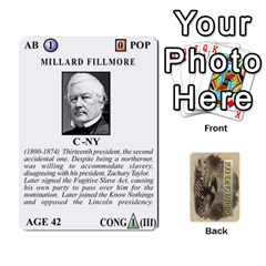 Jack  founding Fathers  Statesmen (action) 2012 By Tom Heaney   Playing Cards 54 Designs   6hx8r6lbrbt7   Www Artscow Com Front - SpadeJ
