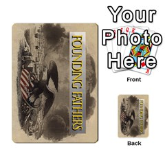 founding Fathers  Issue Deck 2012 By Tom Heaney   Playing Cards 54 Designs   6sdz2ypqsc50   Www Artscow Com Back
