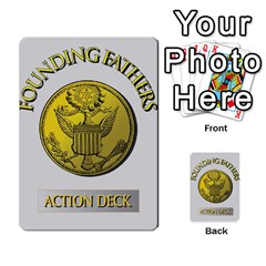 founding Fathers  Action Deck 2012 By Tom Heaney   Playing Cards 54 Designs   Ehbsshdpxls5   Www Artscow Com Back