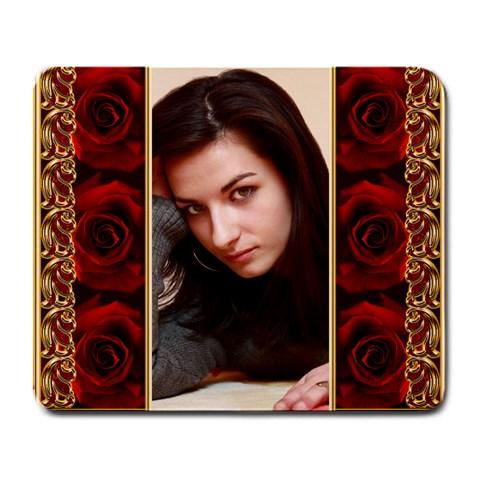 My Rose 2 Mousepad By Deborah   Large Mousepad   27zwyim3q6o2   Www Artscow Com Front