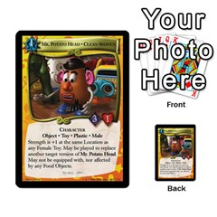 Toy Story 3 Of 5 By Orion s Bell   Multi Purpose Cards (rectangle)   0utq67n69u3t   Www Artscow Com Front 15